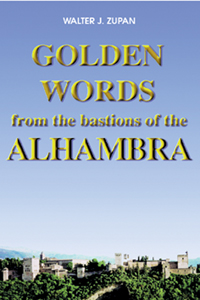 Golden words from the bastions of the Alhambra